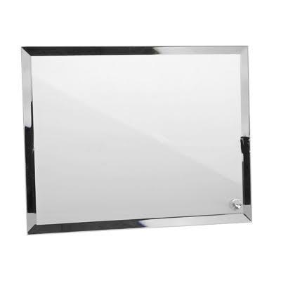 cadre photo en verre poser 23x18 cm contour miroir. Black Bedroom Furniture Sets. Home Design Ideas